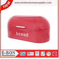 Steel Bread Storage Container Swing Lid Bread Bin