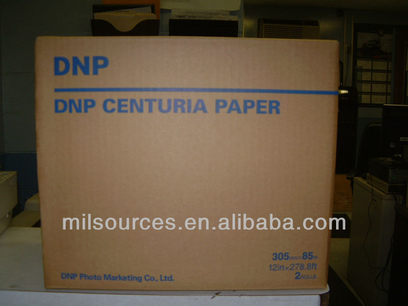 DNP Centuria Japan Color Photo Paper (Fuji, DNP, Mistsubishi)