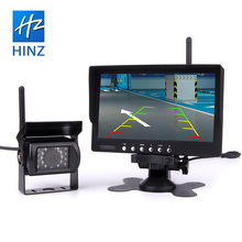 12- 24V Truck tractor Bus Wireless rear view camera system with 7 inch monitor