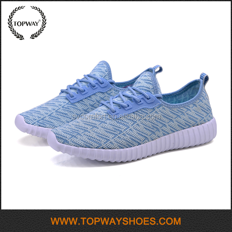 Latest Lightweight Safety Air Fashion Sport Style Woman Shoes