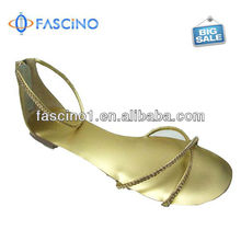 2013 Summer Fashion Jelly Sandals With Rhinestones