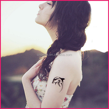 Newest Fashion products custom flash metallic bird tattoos designs temporary fish tattoo