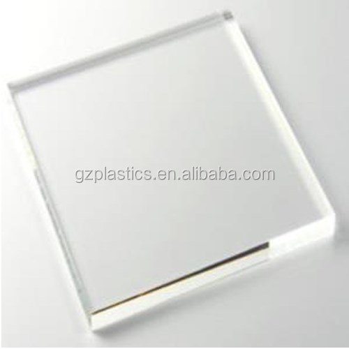 High light transmission solid Polycarbonate sheet
