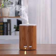 Portable aromatherapy machine bamboo aroma essential oil diffuser air fresher