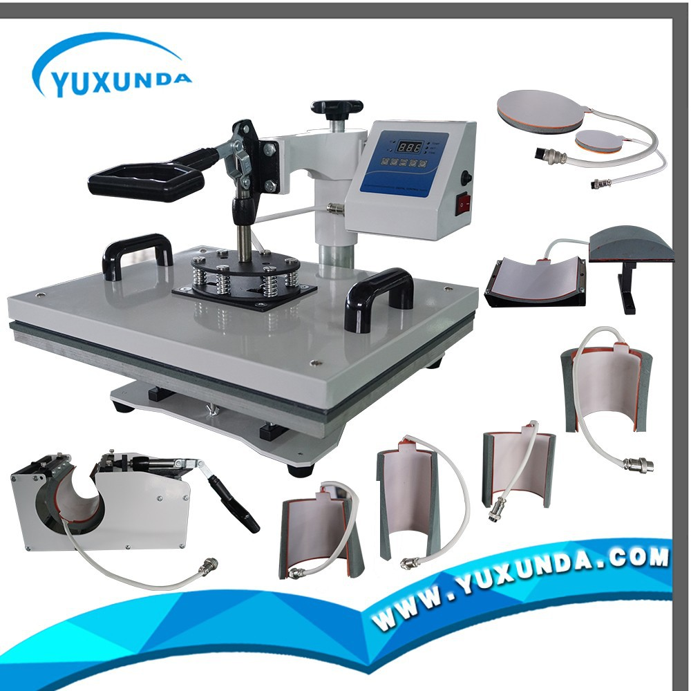 8 in1 mini 3d sublimation heat press machine for table cloth