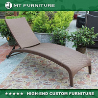 cheap rattan sun lounger furniture