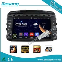 9 Inch dashboard placement Car stereo Car Radio Android Quad core car dvd player for Kia Sorento 2015