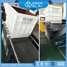 plastic shredding machine single shaft bag pipe shredder