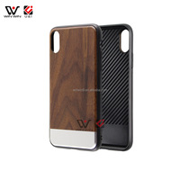 New Arrival Blank Wood Pattern Soft TPU Protective Phone Case Cover for iPhone X for iPhone 8