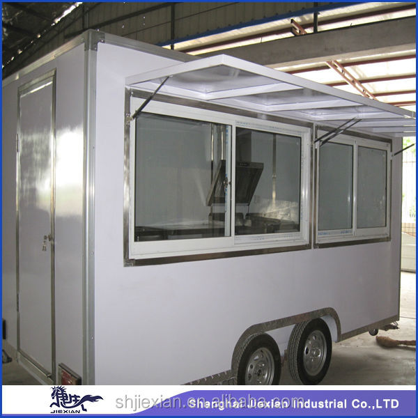 Professional Spacious Outdoor Mobile Food cart JX-FS400B