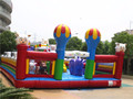 outdoor interesting inflatable amusement park