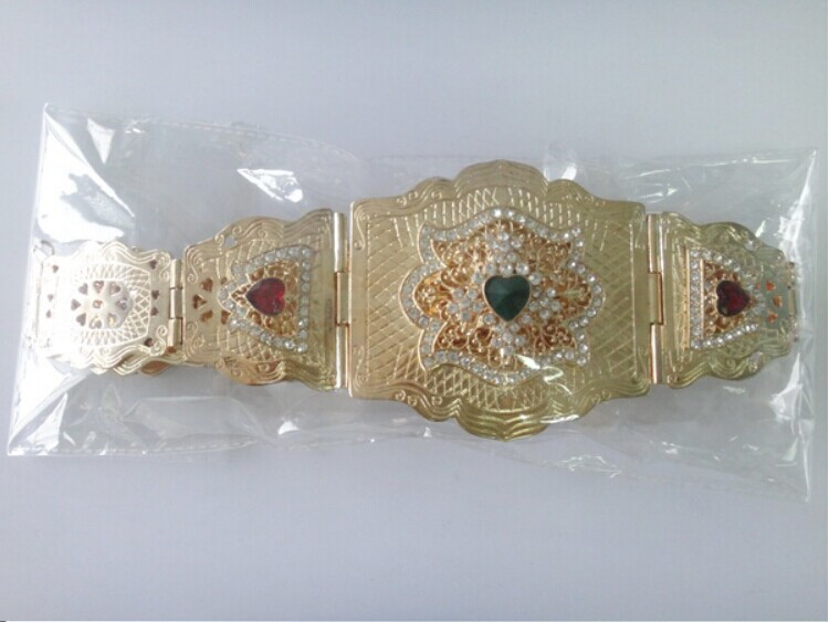 New design Ladies Chain Metal Belts