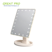 Wholesale cheap theatrical vanity girl hollywood led makeup mirror with light, lighted makeup mirror
