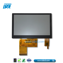 FT5446 controller 4.3 inch tft lcd display 480x272 resolution with Capacitive touch panel
