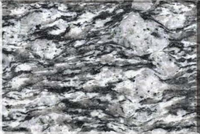 HYG cheap natural stone Spray White granite tile