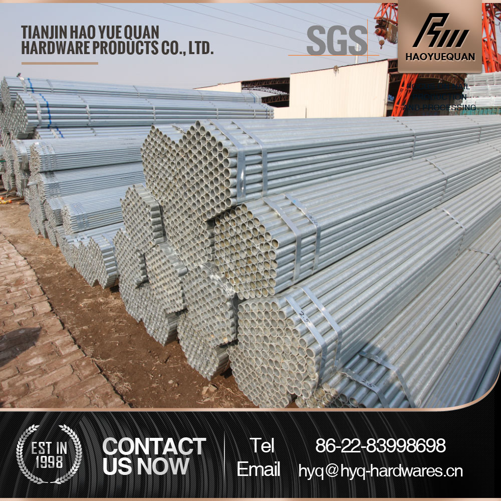 BS1387 ASTM A53 Galvanized Pipe G.I. Pipe