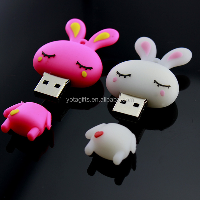 Custom Logo Printing USB Flash Drive 2.0 USB 2G 4G 6G 8G USB Cable