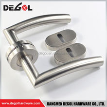 Hot Sale New design stainless steel double sided tube lever apartment residential privacy door lever