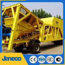mobile concrete batch plant fibo intercon