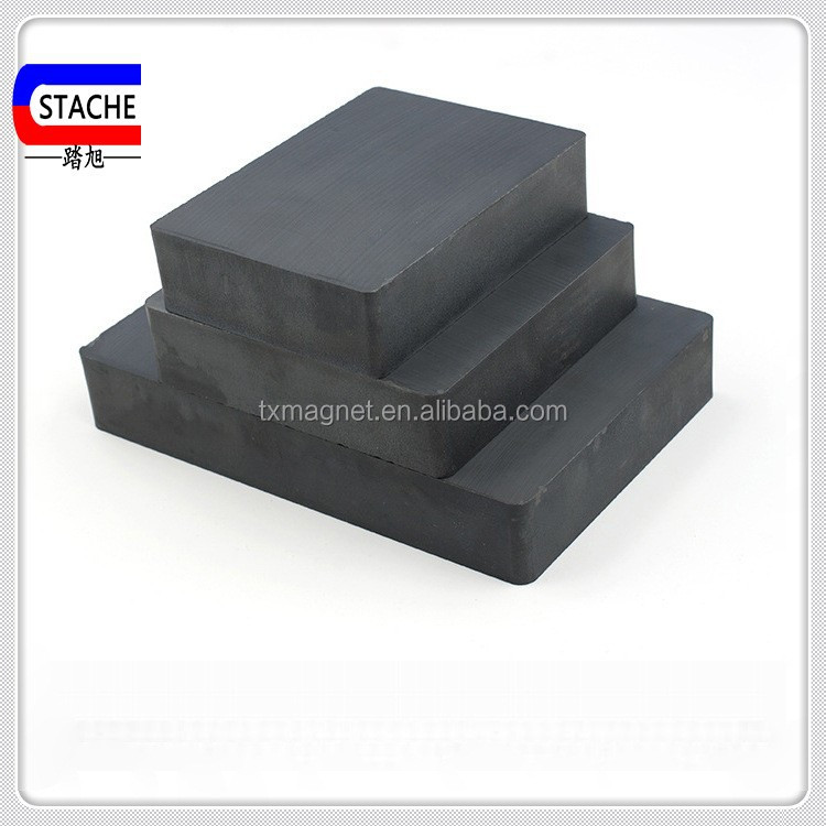 Super Power block barium ferrite magnet