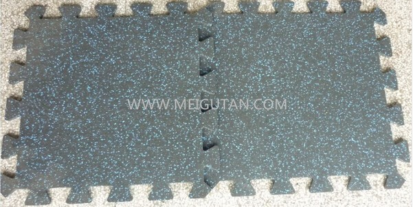 neoflex gym rubber interlocking tiles