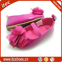 Flower strap child mary jane shoes kids beautiful rosette girl shoes for toddler
