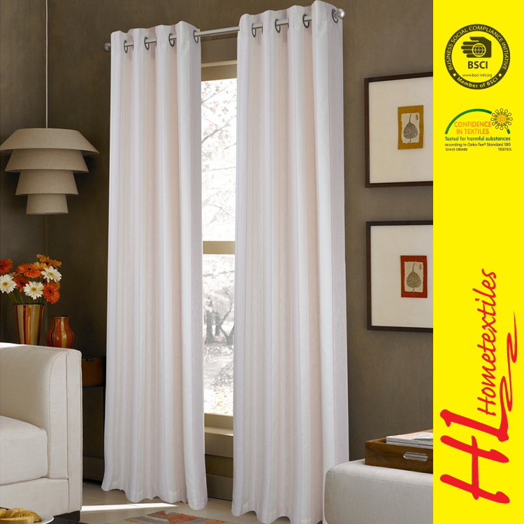 BSCI certification European-style colorful kitchen curtains