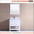 White Lacquer chinese bathroom vanity T9223-30W