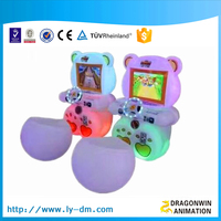 Gaming chair racing game for kids, best price car racing electronic game machine