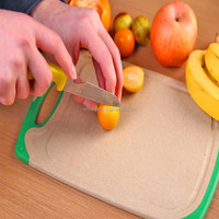 Eco-Friendly Natural Rice Husk Wooden bamboo cutting Board/Chopping Board