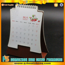 Guangzhou factory wholesale top quality low cost desk calendar table calendar