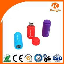 Promotion Gift Mini Flashlight Ultra Bright Plastic USB Rechargeable Unique Flashlight
