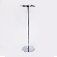 Professional Heavy Duty Revolving Tie Belt Spinner Shop Display Stand