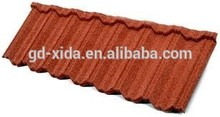 Colorful residential roof tile,metal roof tile red clay roof tiles