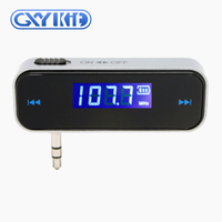 GXYKIT wireless car radio FM Transmitter F1 3.5mm jack smartphone muisc fm transmitter