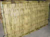 artificial ivy vine leaf split bamboo fence