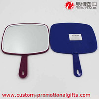 hair salon mirrors,simple single side plastic mirror,hand held mirrors wholesale salon mirror
