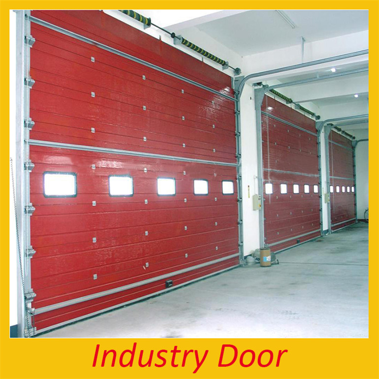 kerala house automatic commercial double steel sliding fire rated sectional overhead main door design