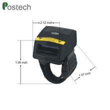 China Express mini wearable ring wireless barcode scanner