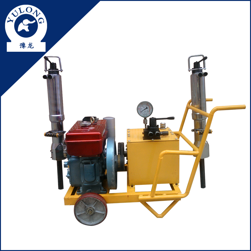 Secondary Breaking Small and light hydraulic quarry rock splitter