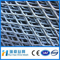 Galvanized Or Plastic coated mesh expanded metal