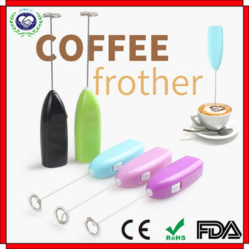Coffee Milk Drink Electric Whisk Mixer Foamer Frother Kitchen Egg Beater