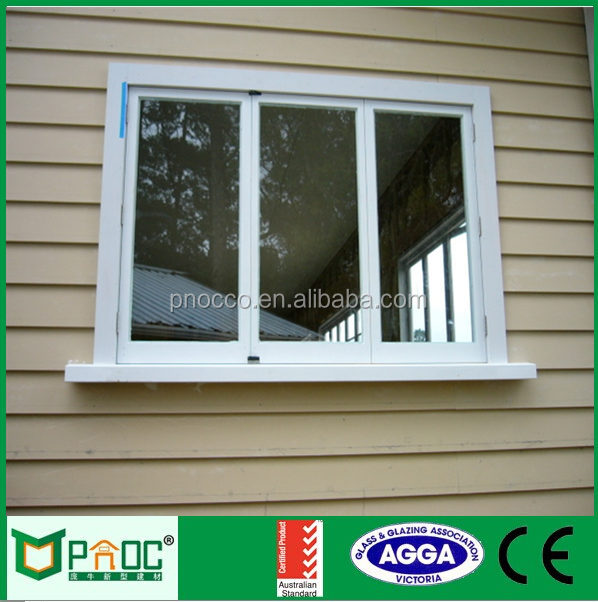 Modern Style Folding Window with Australian Standard PNOC092808LS