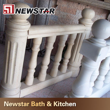 Chinese high quality natural stone baluster railing