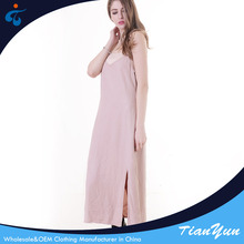 Wholesale modern design comfortable casual beach maxi dress