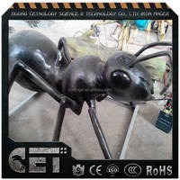 animatronic ant coleoptera insects replicas artificial ant