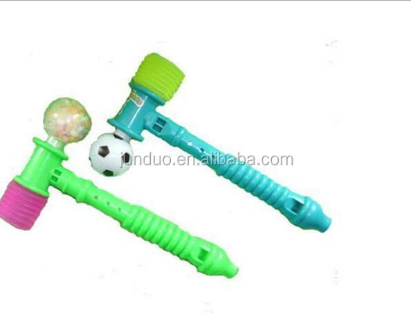 Football flute hammer candy toy