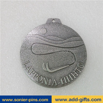 Sonier-Pins China Customized medals and trophies running sports medal anqitue silver medallions