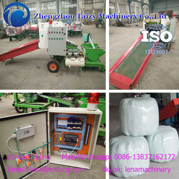 Fully automatic corn wrapping machine Silage Baling Machine
