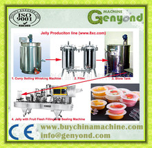 Commercial Various colloform soft candy gummy/Jelly Candy Pruduction Line